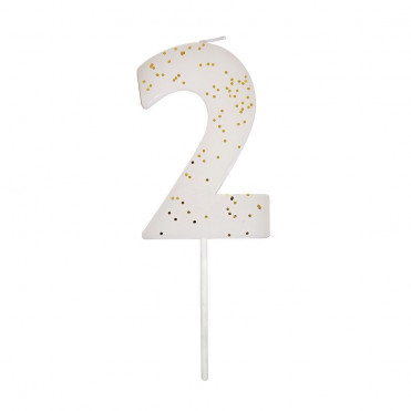 NUMBER 1 CANDLE
