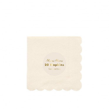 ECO PINK SMALL PAPER NAPKINS
