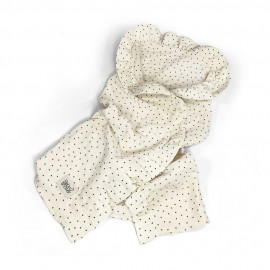 POLKA DOT TOQUILLA SWADDLE