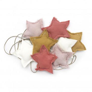 BANDEROLA MALVA STARS
