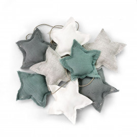 BANDEROLE STARS MALVA & CHERRY