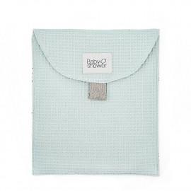 WAFFLE AQUA CLOTH BAG