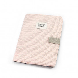 WAFFLE BLUSH DOCUMENT FOLDER