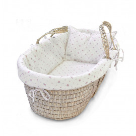 VINTAGE BLOOM MOSES BASKET