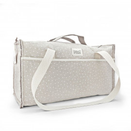 WHITE MINISTAR MATERNITY BAG