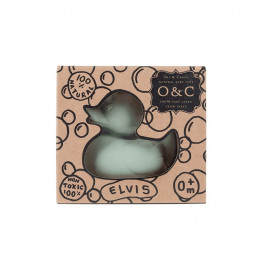 OLI & CAROL ELVIS GREY DUCK BATH TEETHER