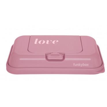 CAJA TOALLITAS FUNKY BOX TO GO ROSA VINTAGE