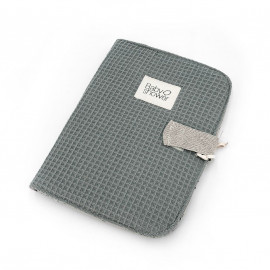 WAFFLE FOG DOCUMENT FOLDER