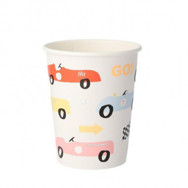 GOLD CONFETTI PAPER CUPS
