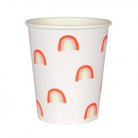 MINT GRID PAPER CUPS