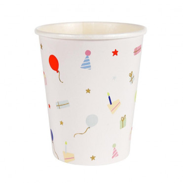 RACING CARS PAPER CUPS