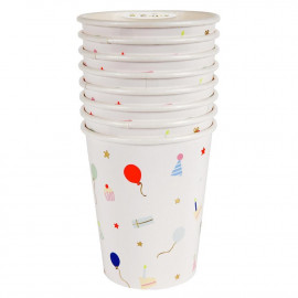 VASOS DE PAPEL COCHES RACING