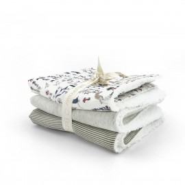 LIBERTY THEO SET 3 MINI-TOWELS