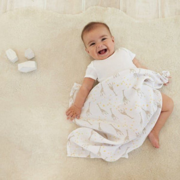 ADEN+ANAIS BABY ZEBRA SWADDLE
