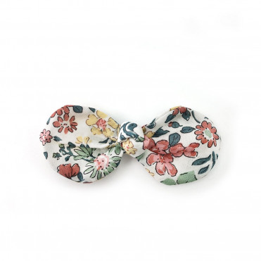CLIP FRENCH BOW MICHELLE PINK