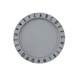 Plato Hondo Tritán Design Gris