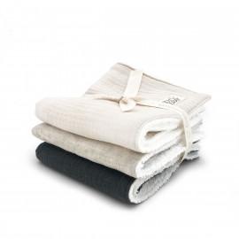 ROCK & CLOUD 3 MINI-TOWELS SET