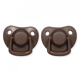 RUSTY 2 FILIBABBA PACIFIERS SET