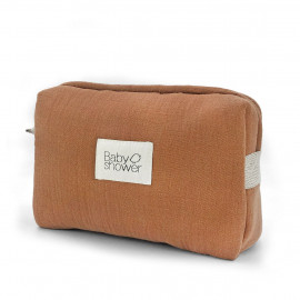 CARAMEL POWDER CAMILA TOILETRIES CASE
