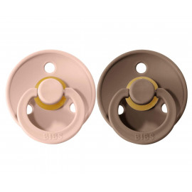 VANILLA CLOUD x2 BIBS PACIFIER SET