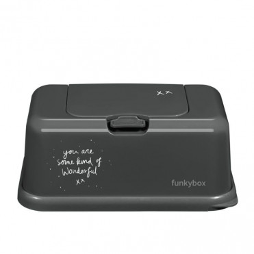 FUNKYBOX WIPES CONTAINER BLUE TIGER