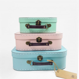 PASTEL COLOURS SUITCASE