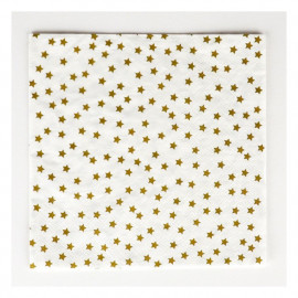 SERVILLETAS PAPEL GOLD STAR