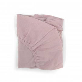 DRAP HOUSSE CHANGEUR ROSE POWDER