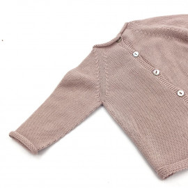BABY JERSEY TRICOT ROSE