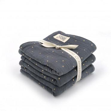 AQUA POWDER 3 MINI-TOWELS SET