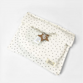 BLACK STAR CLOTH BAG