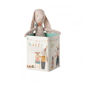 HAPPY DAY BUNNY METAL BOX