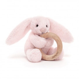 BLASHFUL BEIGE BUNNY TEETHER