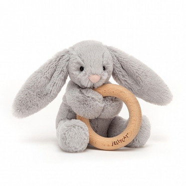 PELUCHE DENTITION BUNNY PINK
