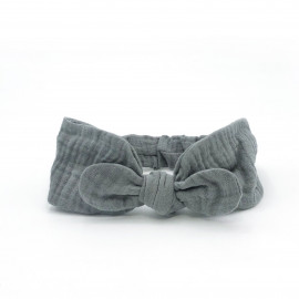 BABYTURBAN VERANO GREY POWDER