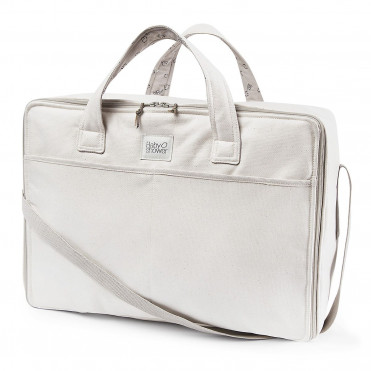 BETSY LINEN TRAVEL SUITCASE
