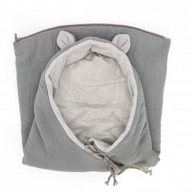 SACO ENTRETIEMPO BAMBI GREY POWDER