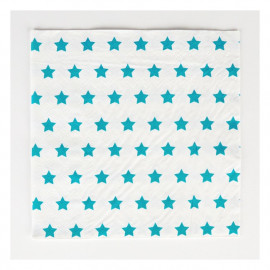 PAPER NAPKINS BLUE STAR