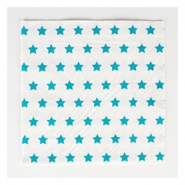SERVILLETAS PAPEL BLUE STAR