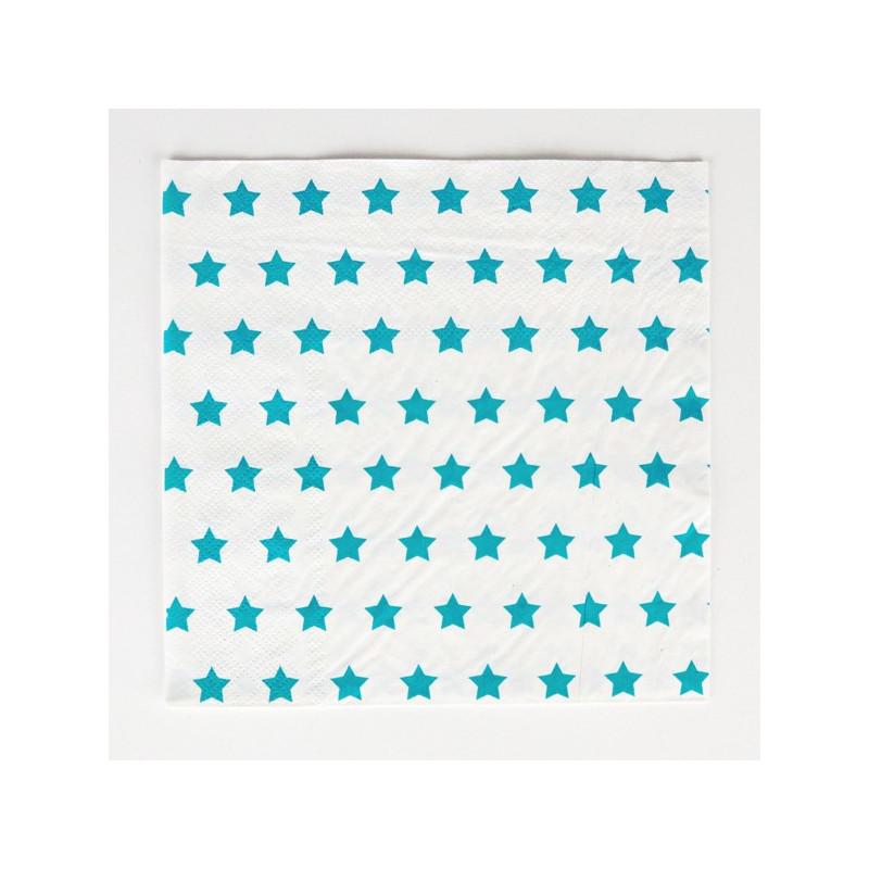 SERVILLETAS PAPEL BLUE STAR