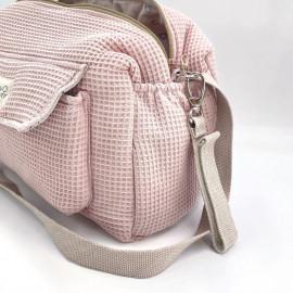 WAFFLE ROSE CAMILA STROLLER BAG
