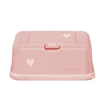 CAJA TOALLITAS FUNKY BOX LOVE ROSE