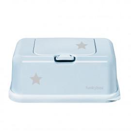 CAJA TOALLITAS FUNKY BOX STAR BLUE