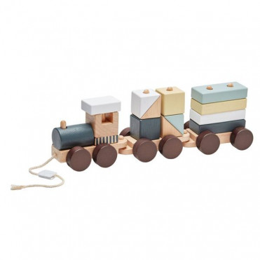 EDVIN ANIMAL WOODEN TOY TRAIN