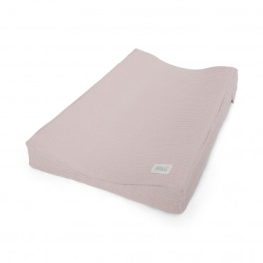 WAFFLE ROSE CHANGING MAT COVER