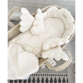 IVORY ANGEL BASKET SET