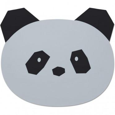 LIEWOOD PANDA GREY PLACE MAT