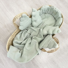 SWEET SAGE ANGEL BASKET SET