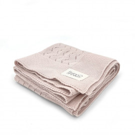 NUDE TRICOT KNIT BLANKET