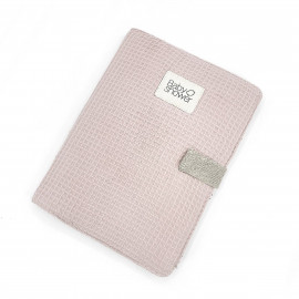 WAFFLE ROSE DOCUMENT FOLDER